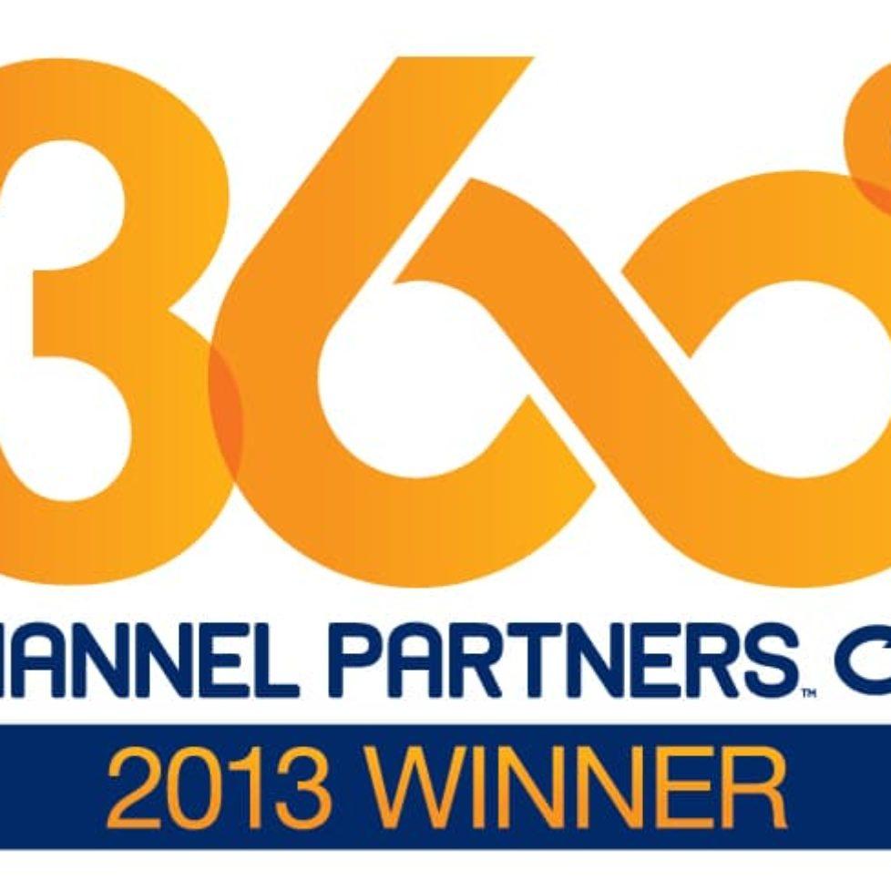 Channel Partners 360 2013 Winner(5)