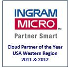 Ingram Cloud Partner of the Year Award Logo