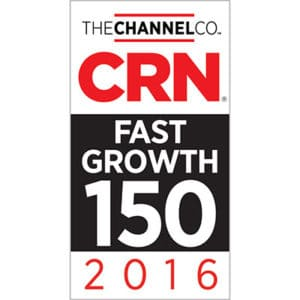 CRN 2016 Fast Growth Award